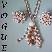 Vogue Flapper Necklace & Cha Cha Earrings