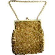 Hand Beaded Walborg Purse / Bag