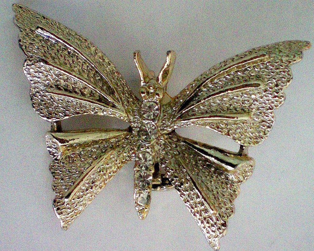 Butterfly with Rhinestone Accents by Gerry's