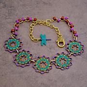Chimayo Pinwheel Necklace