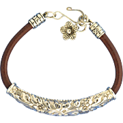Handmade Thai Sterling Silver .925 Bracelet