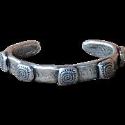 Fine Silver .999 Swirl Design Bangle