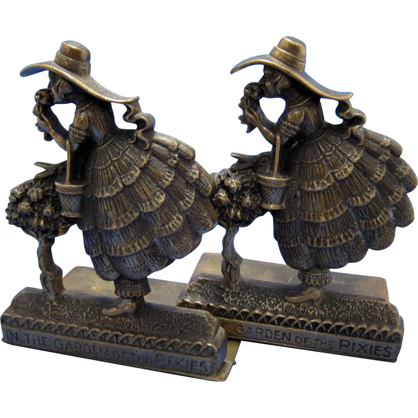 Item ID: Mary Bookends In Shop Backroom