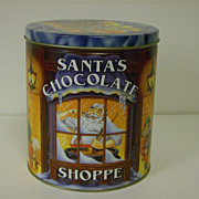 Collectible Tin ~ Santa's Chocolate Shoppe