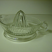 Anchor Hocking Orange Reamer in the Reamers Pattern