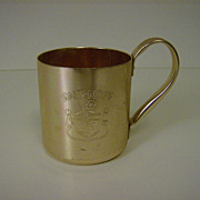 Smirnoff Moscow Mule Copper Aluminum Mug
