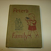 Peter's Family ~ A Study of Home Life 1949