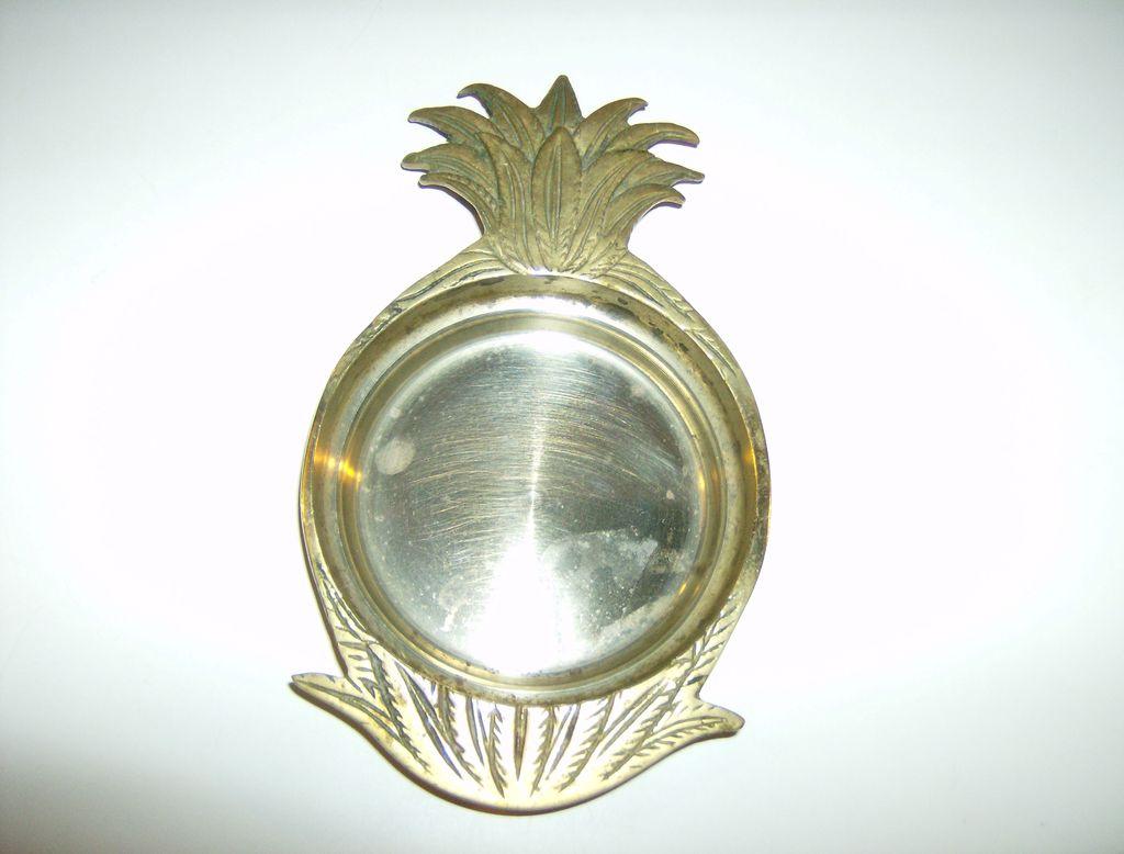 Andrea by Sadek Brass Pineapple Dish