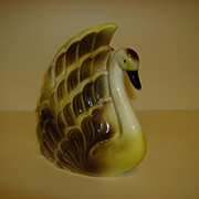 California Potteries ~ Lane and Co. ~  Swan Planter