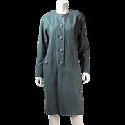 Vintage Mila Schon Fine Italian Wool Dress Circa 1970