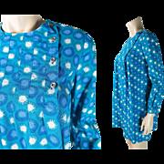 1960's Vintage Finnippa - Design Research Finnish Printed Cotton Mini Tent Dress