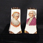 George and Martha Salt and Pepper Shakers