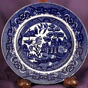 Blue Willow Bread and Butter Plate - Japan