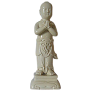 "Dehua Porcelain of Shan Tsai - Disciple of Guanyin - 10 l/2 "" High"