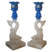 MMA Clambroth & Blue Dolphin Candlesticks - Imperial for MMA