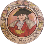 Royal Doulton Professional Series Plate - The Mayor