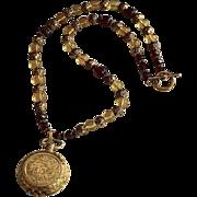 Romantic Victorian Style Sachet Locket Necklace