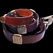 Attractive Brighton Multi-Colored Leather Belt