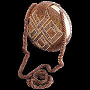 Mary McFadden Clam Shell Style Beaded Evening Bag
