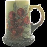 American Belleek CAC (Lenox) Mug Tankard Red Cherries