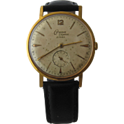 1950s Onsa Elegance Mens Watch Swiss Wind-Up