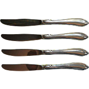 Shasta Stainless Steel Vintage Oneida 4 Knives