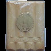 Lucien Lelong Tailspin Vintage Bar Soap Sealed Cellophane