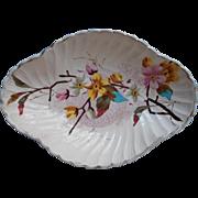Victorian Royal Bonn China Pickle Antique Dish Franz Anton Mehlem