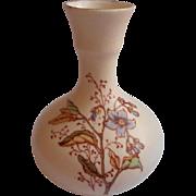 Tiny Antique Vase Decorated Like Royal Worcester China European