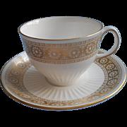 Wedgwood Marguerite Cup Saucer Vintage Bone China