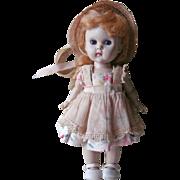 Ginny Vogue Doll Vintage 1950s Strawberry Blonde Original Clothing