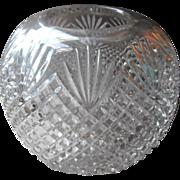 BIG Rose Bowl EAPG Antique Pressed Glass