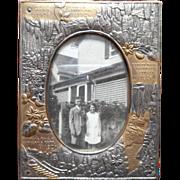 Luray Caverns Virginia Vintage Photo Frame 1926 Souvenir