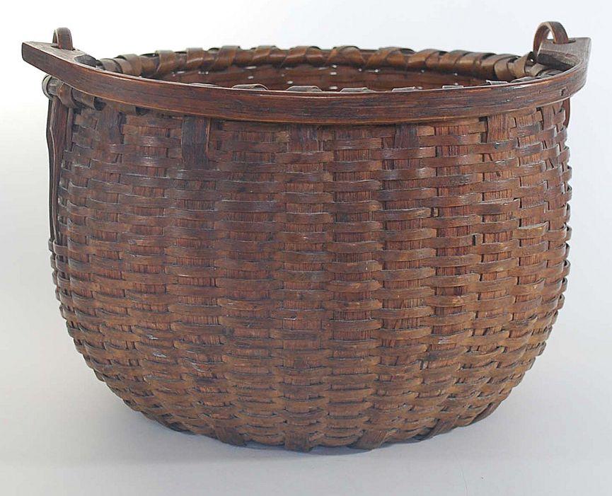 Antique Swing Handle Basket, Taconic