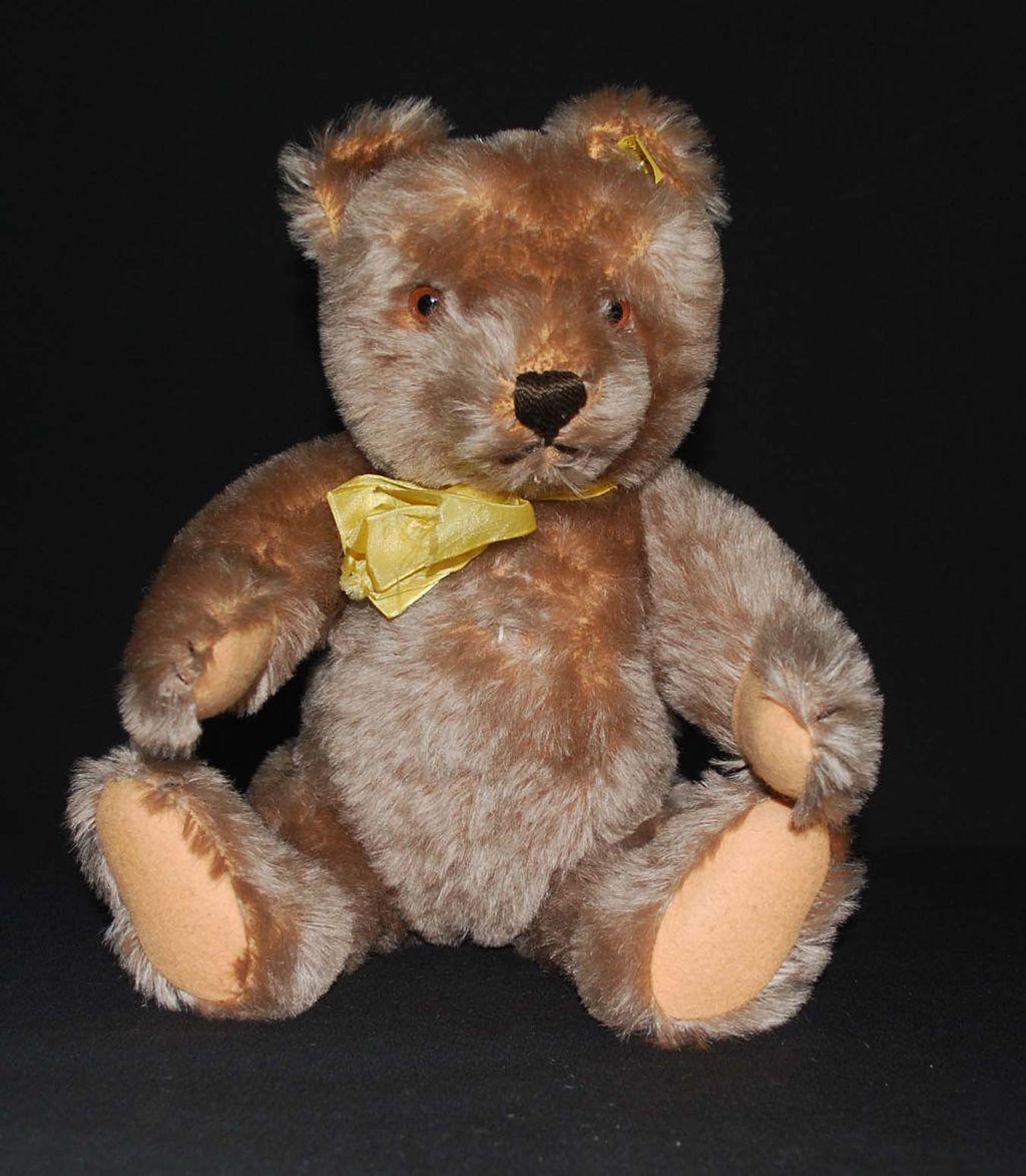 Steiff Teddy Bear with Noise Box, Vintage