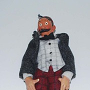 Vintage Comic Character Doll, Mutt & Jeff: Jeff, by Bucherer