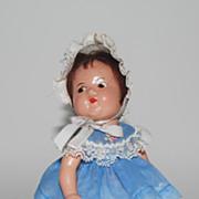 """Composition Madame Alexander """"Quint"""" Toddler Doll, Vintage"""