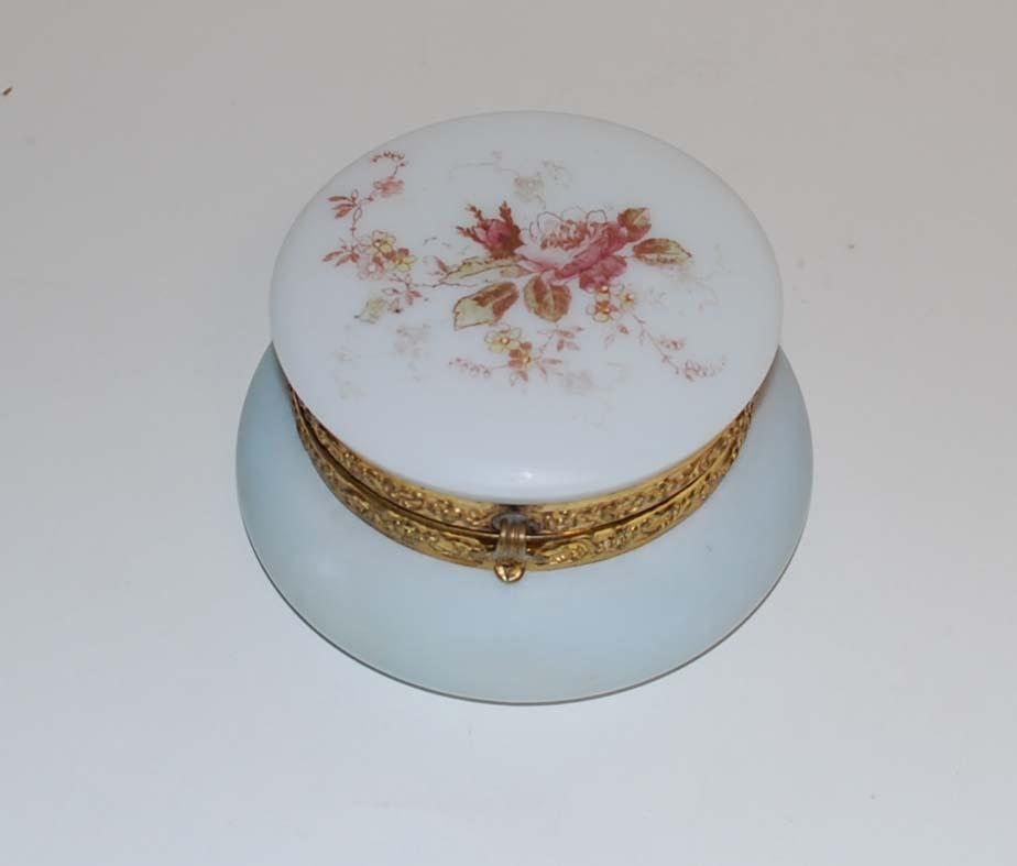 """Antique """"Opal Glassware"""", Wave Crest"""