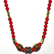 1/2 Off Vintage Gorgeous Lanvin Signed Necklace-