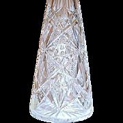Rare 1900's Baccarat Large Cut Crystal Perfume Atomizer