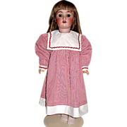 """Vintage Nautical Theme Dress for 24-26"""" German or French Doll"""