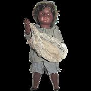 S.F.B.J. 8 in. Brown Native Islander Boy Doll
