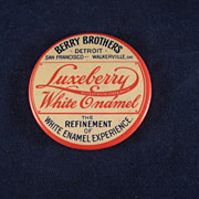 Berry Bros. 'Luxeberry White Enamel' Pocket Mirror