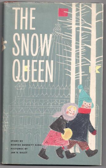 'The Snow Queen' by Martha Bennett King 'A Slottie  Book' HB 1960