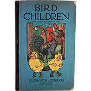 Bird Children the Little Playmates of the Flower Children Hard Back Book