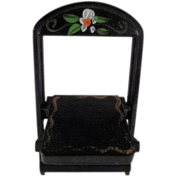 """Renwal No. 109 3/4"""" Folding Chair Crosse & Blackwell Dollhouse Furniture Have 2"""