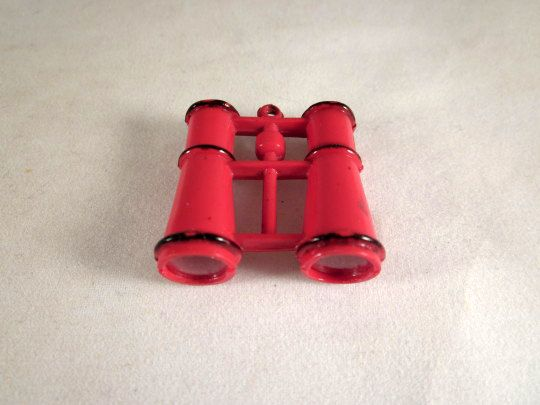 Celluloid Pair of Binoculars Charm for a Doll or Dollhouse Accessory