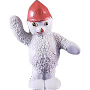 Snowbaby Snowman with Red Hat Traffic Cop