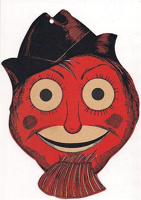 Beistle Halloween Diecut Scarecrow Head Decoration