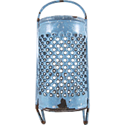 Toy Graniteware Grater Blue with White Dots